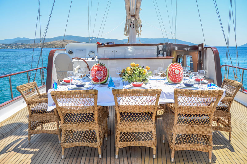 Gulet holiday on board Artemis