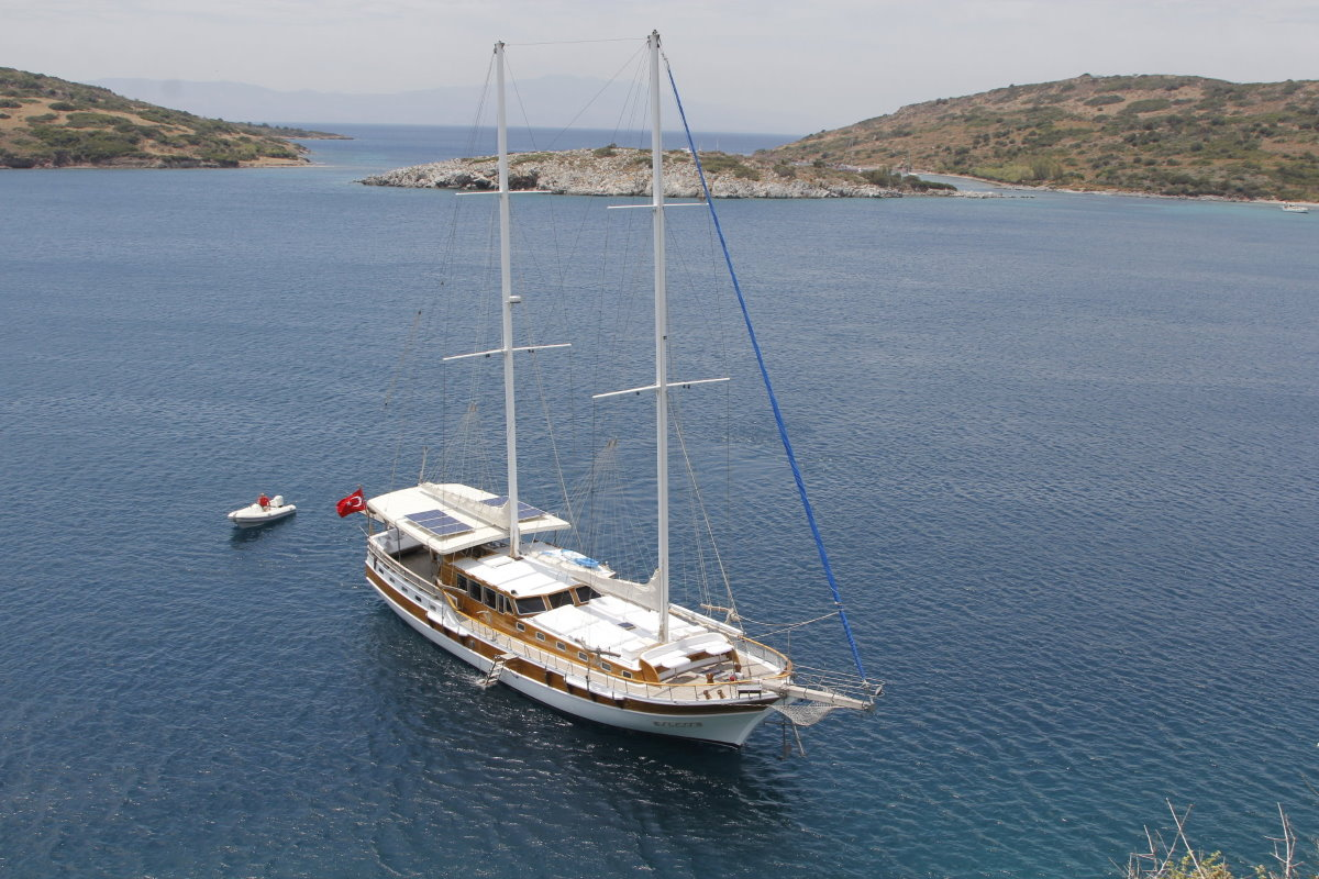 Gulet chartering in cyclades islands